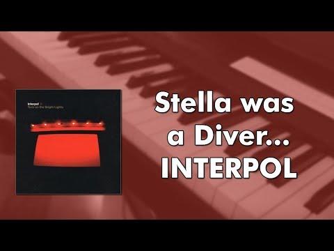 Interpol - Stella Was A Diver... (piano cover)