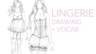 Fashion Vocabulary: Lingerie
