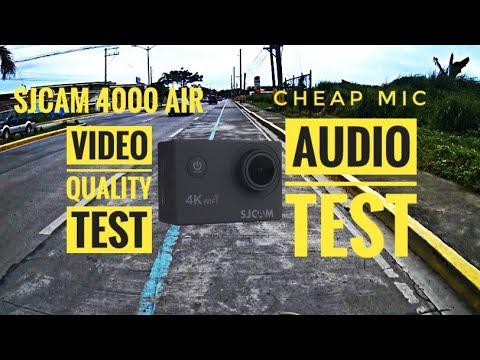 SJCAM 4000 Air Video Quality Test