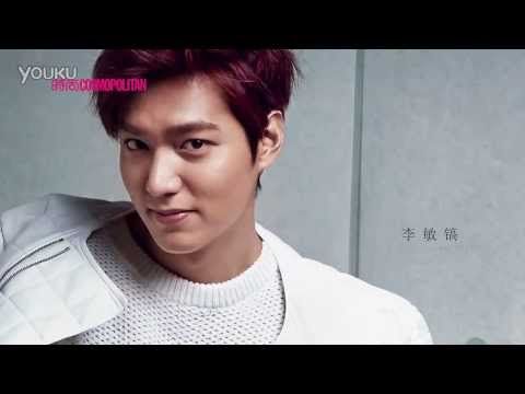 [140218]Lee Min Ho - Cosmopolitan China March 2014 Photoshoot BTS