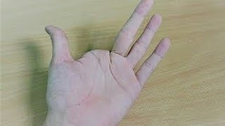 Finger vanish magic trick revealed in Hindi