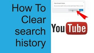 How to clear | delete | search history | watch history on YouTube | pause search and watch history
