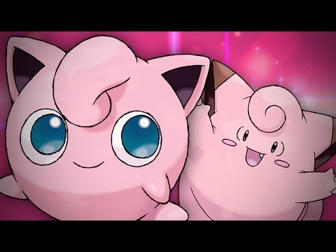 Jigglypuff vs Clefairy. Epic Rap Battles of Pokémon #7.
