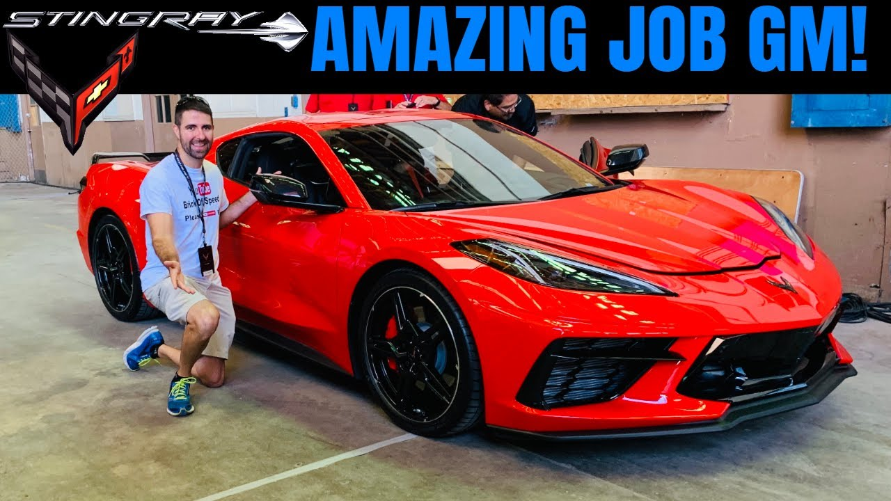 10 reasons to buy a new chevrolet mid engine corvette  amazing gm