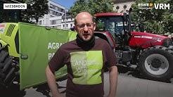Landwirte demonstrieren in Wiesbaden