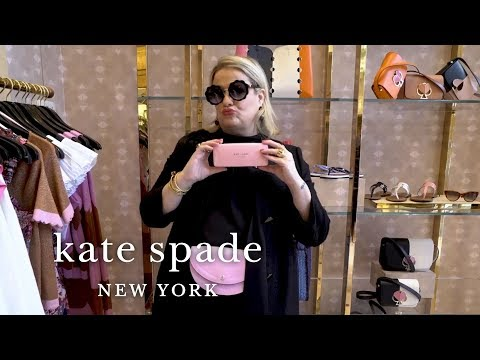 surprise unboxing: new sunglasses for summer! | talking shop | kate spade new york