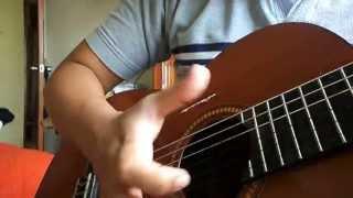 Rasgueo de Tondero - tutorial