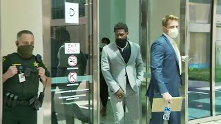 Exclusive: Antonio Brown appears in court, changes plea to no contest in battery case
