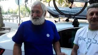 SZUPERMARATON - 2016 - Skoda hívő Volkswagenes pólóban