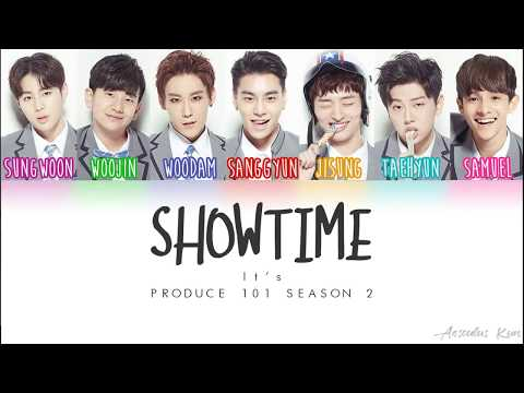 [PRODUCE 101 S2] It's - SHOWTIME [Color Coded ENG|ROM|HAN]