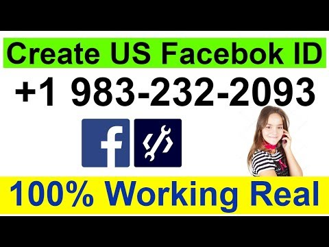 How To Create A US Facebook Account  (2018) 100% Working