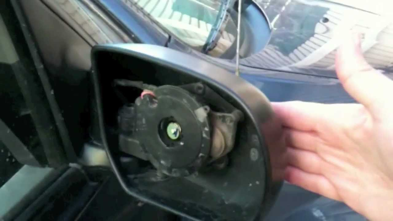 replace your car passenger side mirror - how to