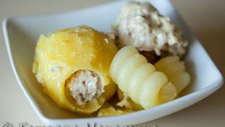 Картофель фаршированный в Oursson 5010