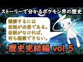 ストーリーで分かるポケモン世界の歴史vol 5 「ポケモン茶番」