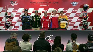 Live Qualifying Press Conference MotoGP™ Jepang 2018