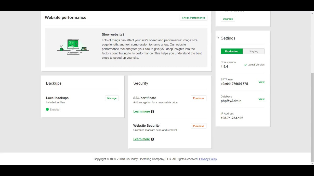 How to Find FTP Credentials on GoDaddy?