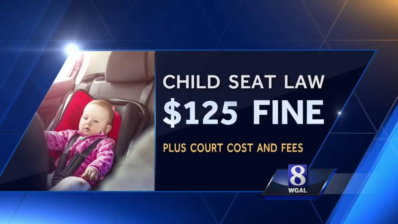New Pennsylvania Car Seat Law Goes Into Effect Friday