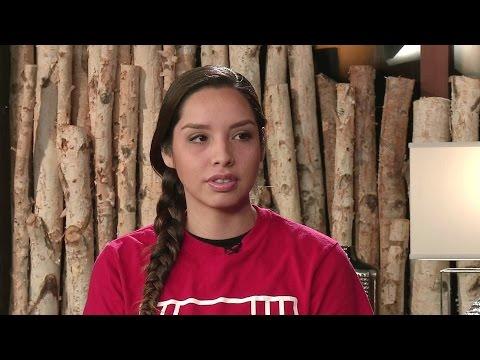 """Water is Life, Water is Sacred"": Standing Rock's Bobbi Jean Three Legs Speaks Out Against Trump"