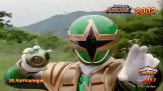 Super Sentai 39 Roll Calls