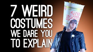 7 Weird Costumes We Dare You to Explain