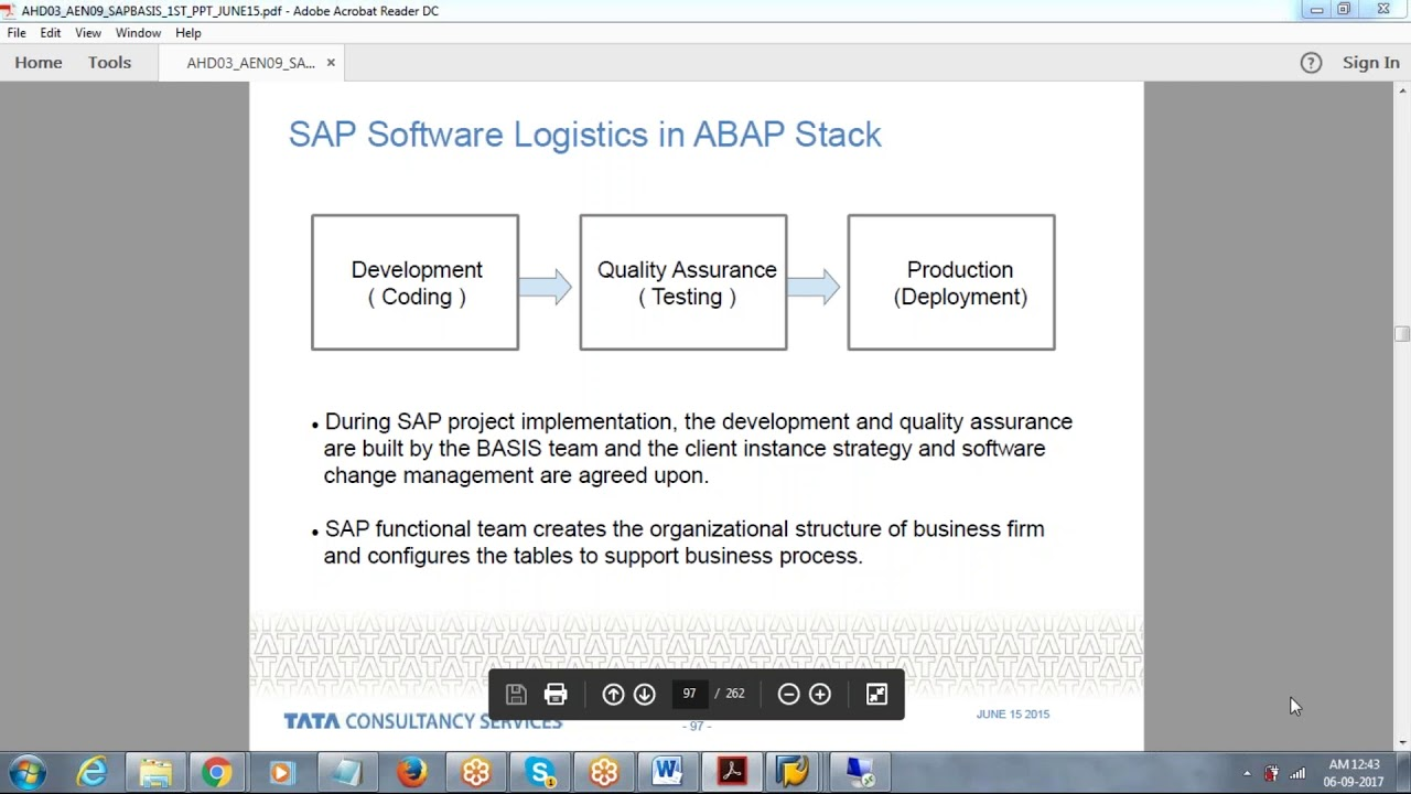 Sap Basis Certification Course With Implementation Project Topics