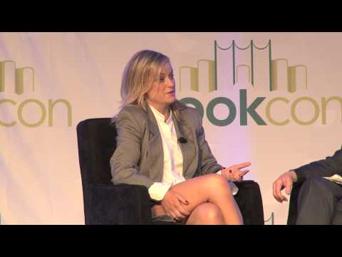 Amy Poehler in conversation with Martin Short at BookCon 2014