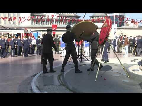19 Eylül Gaziler Günü'nde Taksim'de tören düzenlendi