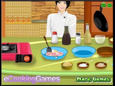 เกมส์ทำอาหาร เกมส์ทำไก่ผัดพริกไทยดำ เล่นเกมส์