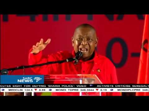 Nzimande says the communist party feels betrayed by the ANC