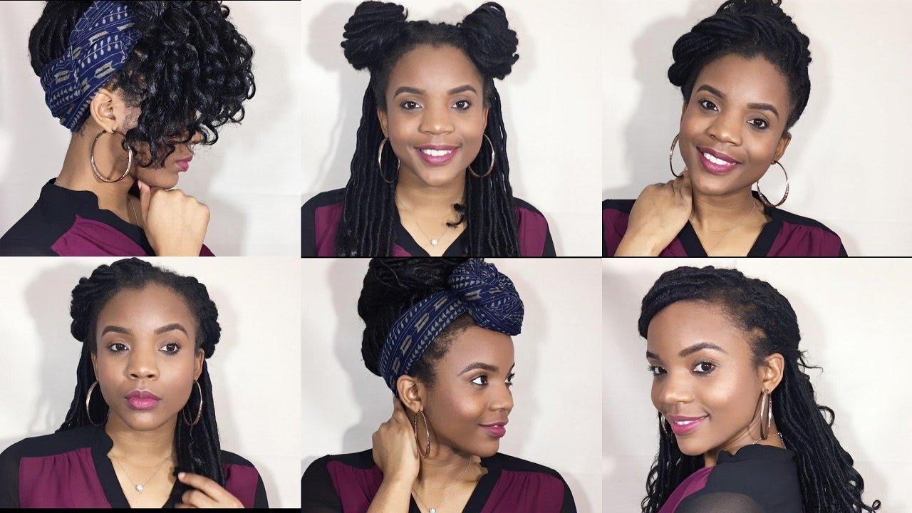 how to: 14 ways to style freetress crochet goddess locs  #jazznicolemethod  to install