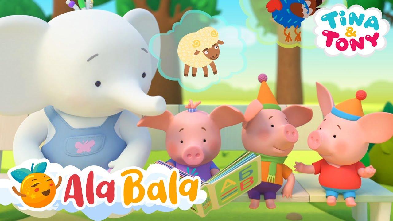 Desene animate dublate în limba română cu Tina și Tony AlaBala