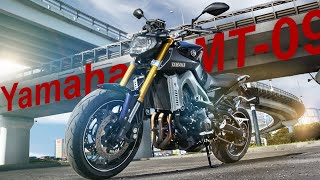 Yamaha MT-09(Обзор новинки 2014 года, закрывающей в модельном ряду компании Yamaha верхний сегмент среднекубатурных нейкедо..., 2015-06-12T22:08:19.000Z)