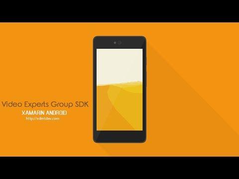 Xamarin Android Tutorial - VXG Player SDK