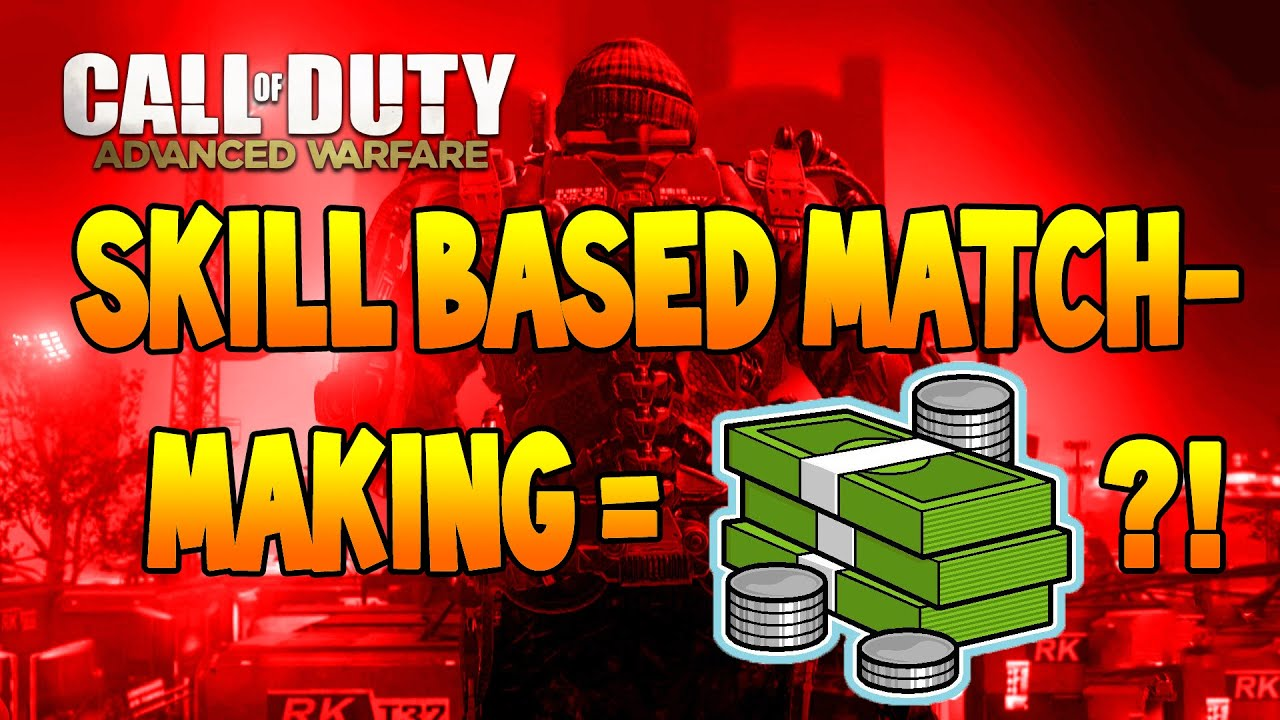advanced warfare skill based matchmaking removed Players may now turn on skill based matchmaking  call of duty: advanced warfare is still going strong since its release in early november the update brought a lot of important fixes to.