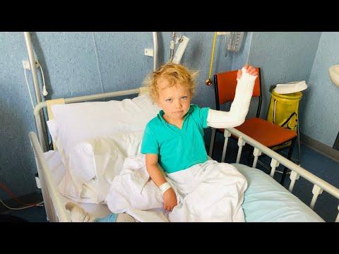 Harry bryter armen, inlagd på sjukhus i Nya Zeeland VLOGG