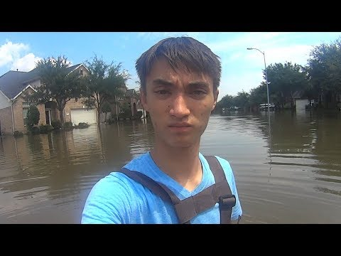 Visiting My House Three Days After it was Flooded by Hurricane Harvey
