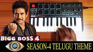 Bigg Boss Season 4   Telugu Theme By Raj Bharath   Manisharma