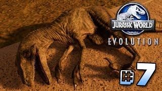 THE RAPTORS ESCAPE! - Jurassic World Evolution | Ep7
