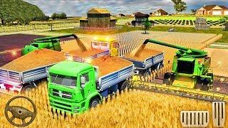 Farm Truck Driving School 2018: USA Farming Games - Tractor Farming Sim - Best Android GamePlay screenshot 5
