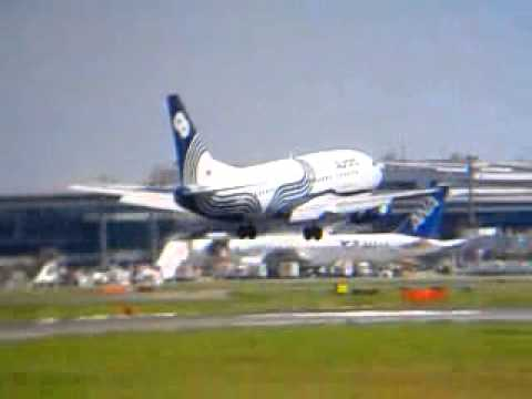 オーロラ[Aurora]B737500[RA73006]Frm →UUS滑空長距離着陸Narita16R