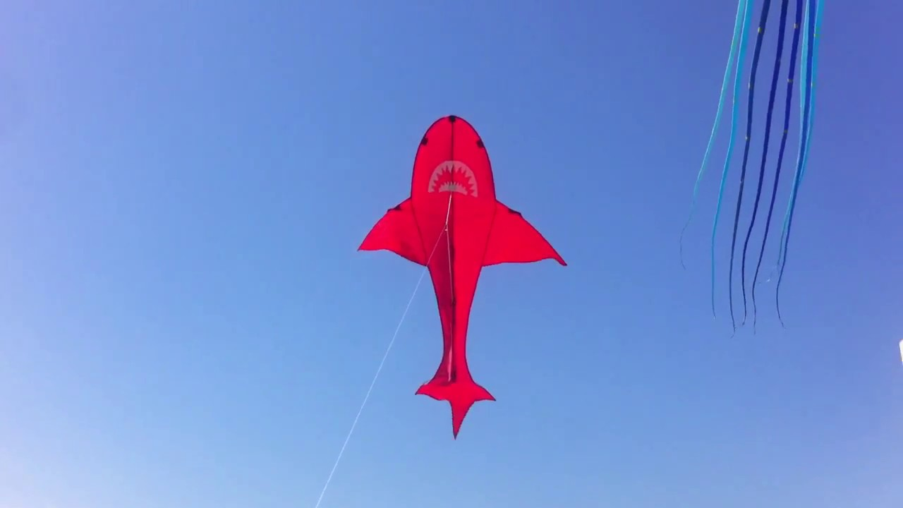 Papalote Tiburon Rojo