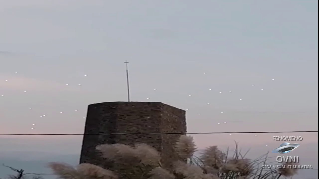 UFOs Filmed in Mexico