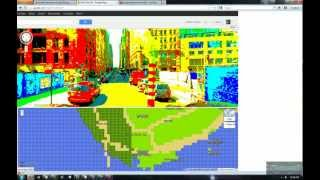 Google Maps 8-bit for NES Free HD Video