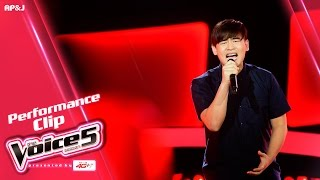 The Voice Thailand - แจ็คกี้ พิรชัชย์ - วัดใจ - 11 Sep 2016