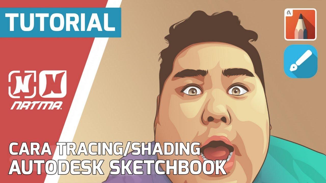 Tutorial membuat vektor kartun photoshop part 2 coloring and shading - Tutorial Autodesk Sketchbook Cara Tracing Shading Dengan Posterize Vektor Vexel