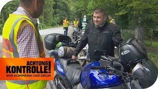Illegales Tuning! Polizei verbietet Biker die Weiterfahrt! | Achtung Kontrolle | kabel eins