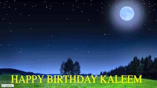 Kaleem   Moon La Luna - Happy Birthday