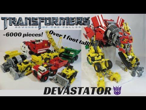 Lego Transformers Revenge of the Fallen- DEVASTATOR