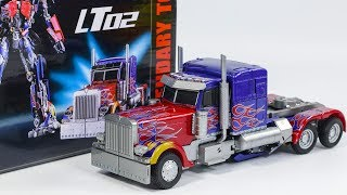 Transformers Movie Masterpiece MPM-4 KO Legendary Toys LT-02 Optimus Prime Truck Vehicle Robot Toy