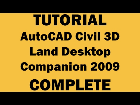 Tutorial AutoCAD Civil 3D Land Desktop
